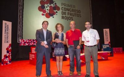 Las producciones integradas y ecológica y el residuo cero, como nuevas tendencias de cultivo, abren el I Congreso de Frutos Rojos