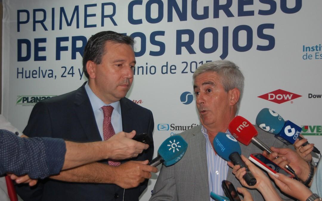 Las producciones integradas y ecológicas abrirán el I Congreso de Frutos Rojos de Huelva