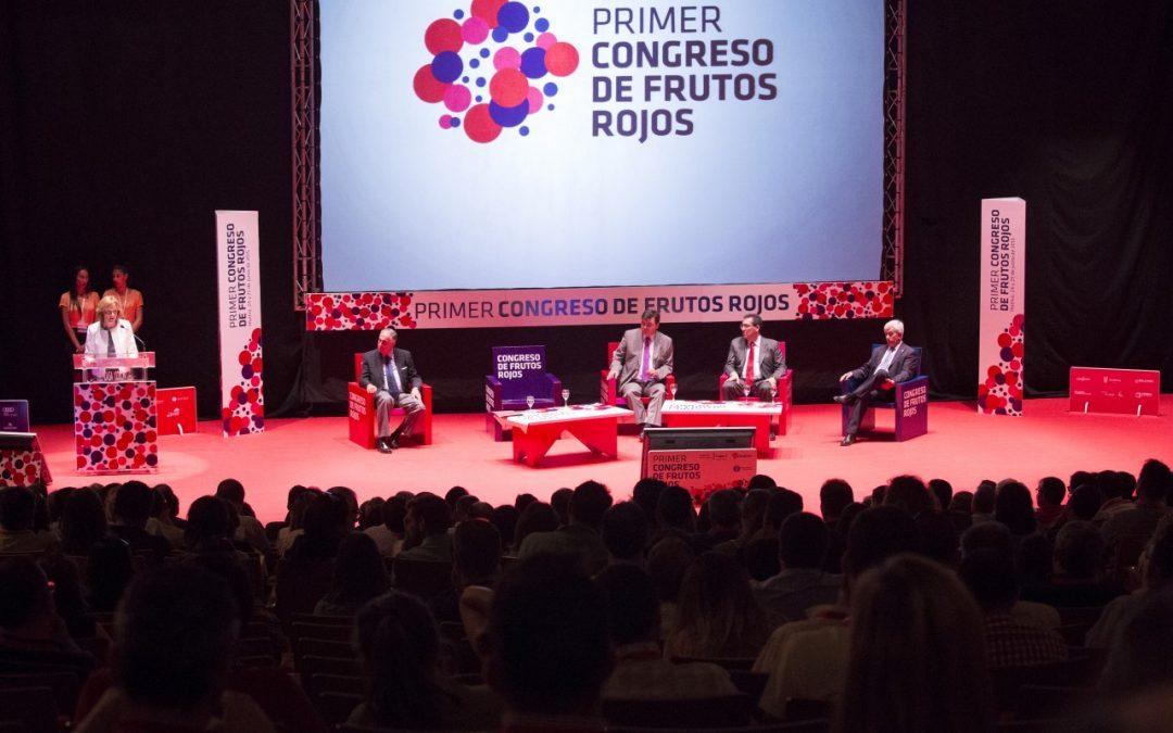 El II Congreso de Frutos Rojos abordará la demanda en países dentro y fuera de la UE