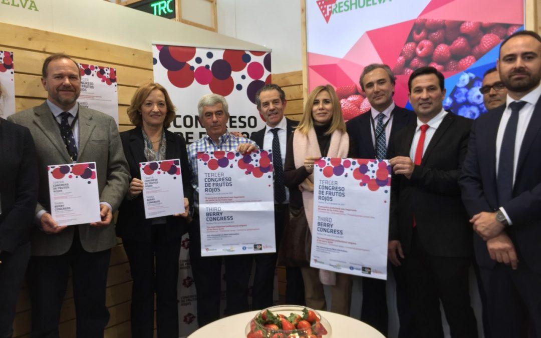 Freshuelva lleva a Berlín las novedades del Tercer Congreso de Frutos Rojos
