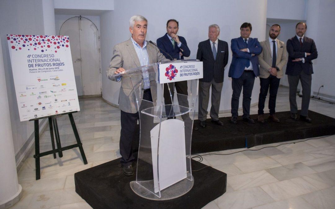 La investigación de nuevas variedades de berries y las oportunidades de nuevos mercados, ejes temáticos del Congreso de Frutos Rojos