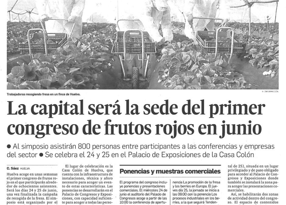 Huelva Información, periódico oficial del Congreso