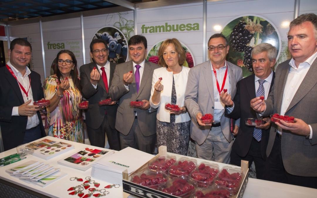 La consejera resalta el potencial científico e investigador de Andalucía para innovar en la producción en la inauguración del Congreso de Frutos Rojos