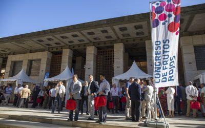 El 6º Congreso Internacional de Frutos Rojos aplaza su celebración a 2021