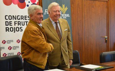 La Fundación Caja Rural del Sur repite como patrocinador principal del III Congreso Internacional de Frutos Rojos