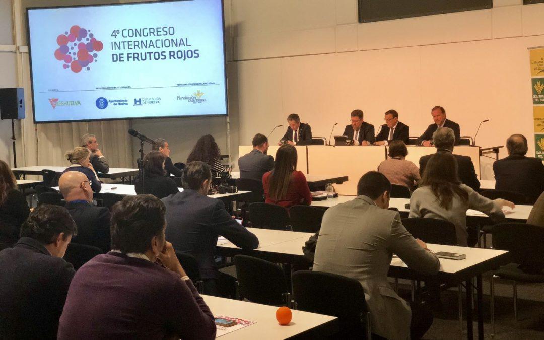 El 5º Congreso Internacional de Frutos Rojos se presenta en Fruit Logistica 2019
