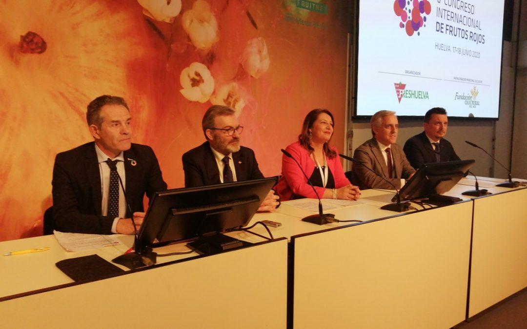 Freshuelva presenta en Berlín el 6º Congreso de Frutos Rojos que se celebrará los 17 y 18 de junio